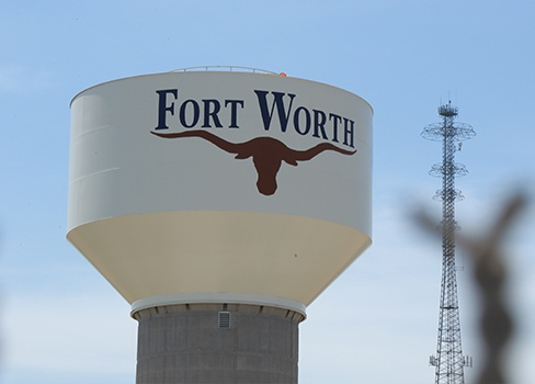 Fort Worth water tower